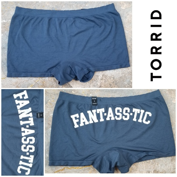 cae5638e67f NWT Torrid FANT-ASS-TIC Boyshort Panty